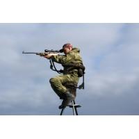 Складная мобильная вышка для охоты